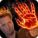 Fire Effect : Fire On Photo Editor icon