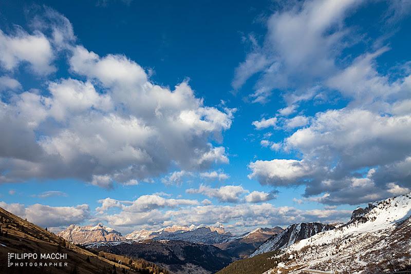 Photo: Panorama from Passo Pordoi (2239 mt. s.l.m.)