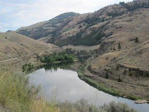 Photo: The Similkameen River just outside Oroville. It will feed into the Okanogan River in Oroville.