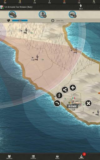 Call of War - WW2 Strategy Game 0.48 screenshots 6