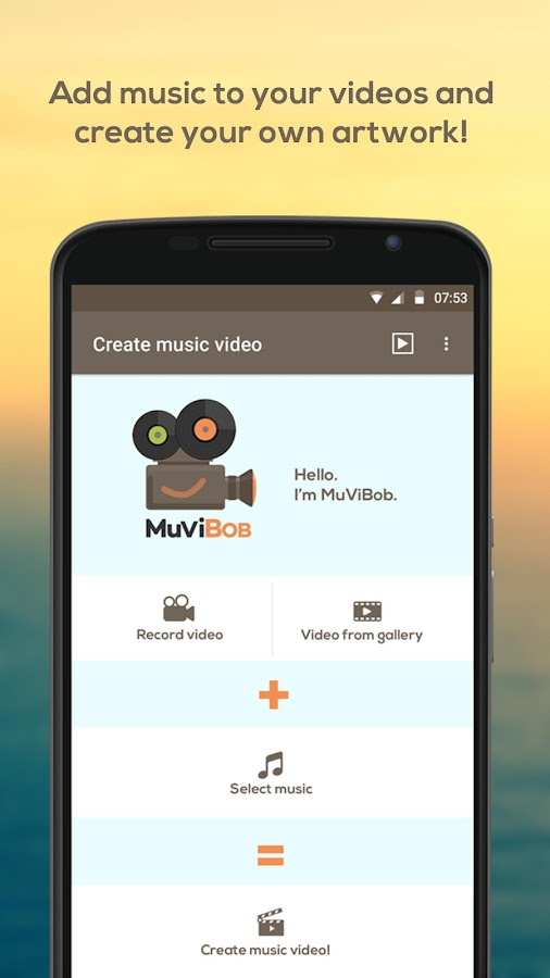 MuViBob: Music + Video- screenshot