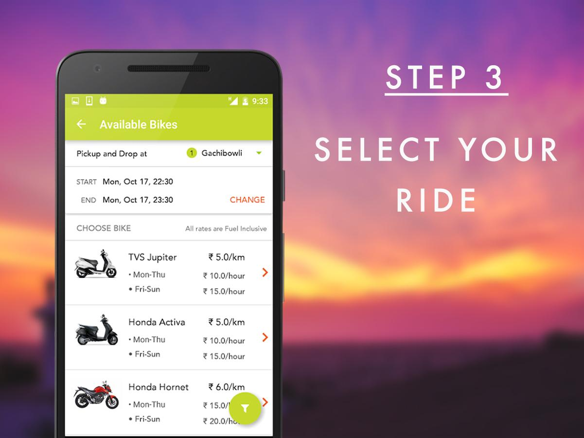 TazzoBikes Your Rented Commute- screenshot