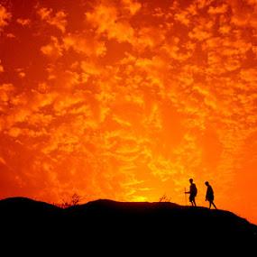 Destination by Debashis Mukherjee - Landscapes Sunsets & Sunrises (  )