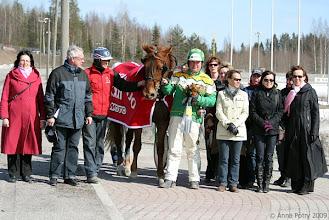 Photo: Suomenhevosten Veeruska-ajon voittaja vuosimallia 2009: Lipertti/Teemu Okkolin