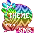 Theme Zebra GO SMS icon
