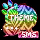 Tema Zebra GO SMS icon
