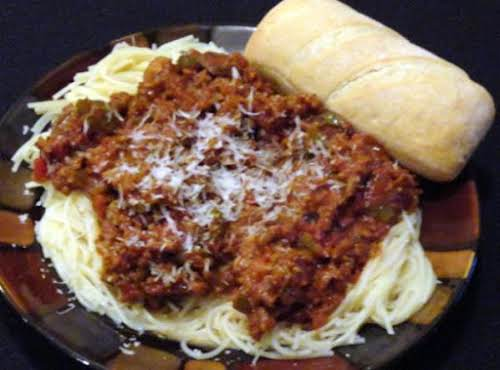 "Recipe Here: Kay's All Day Spaghetti Sauce ""I  have to begin..."