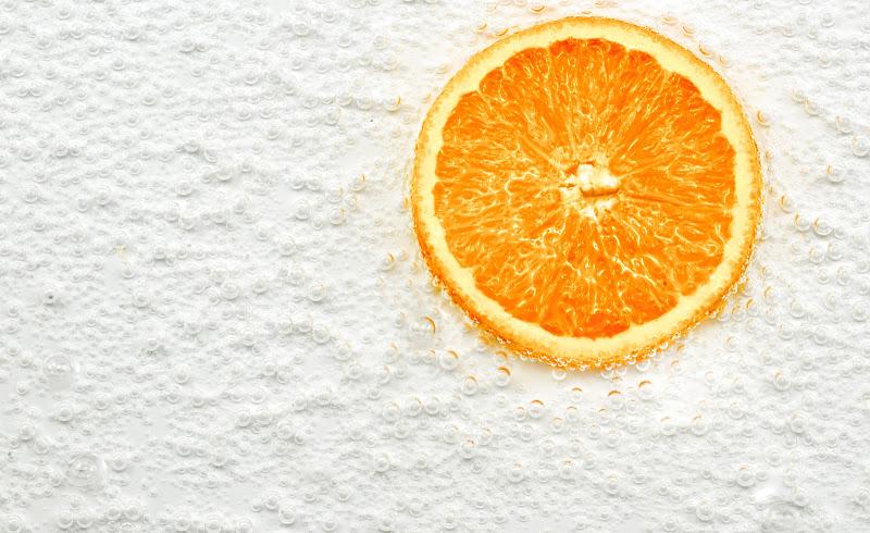 Bollicine per l'arancione di Diana Cimino Cocco
