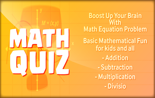 Math quiz Addition and Subtraction Multiplication  trampa 1
