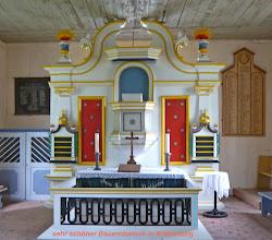 Photo: Bauernbarock in der Dorfkirche Kratzeburg