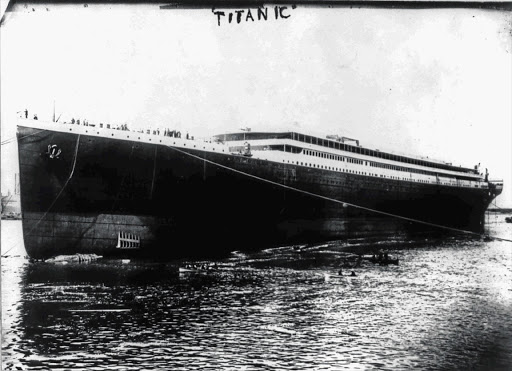 The Titanic is launched into the River Lagan on May 31 1911 for towing to a fitting-out berth, where her engines, funnels and interiors would be installed. The Titanic was considered unsinkable but foundered in frigid Atlantic waters off Newfoundland after striking an iceberg. About 700 passengers survived, but some 1 500 perished.