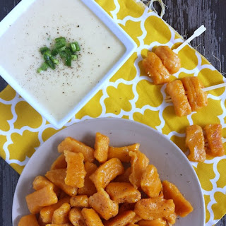 Sweet Potato Gnocchi with Jalapeno Cheddar Beer Dip