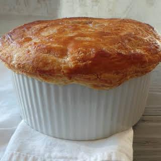 Ham, Leek and Asparagus Pie.
