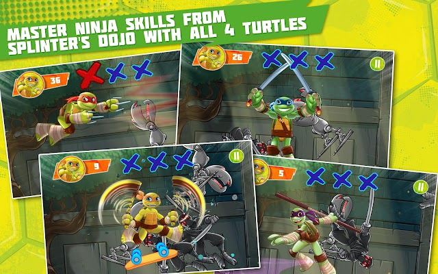 TMNT: Half-Shell Heroes- screenshot