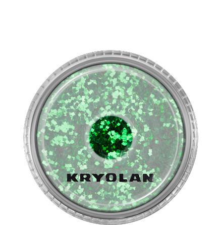 Kryolan Kroppsglitter, Grön