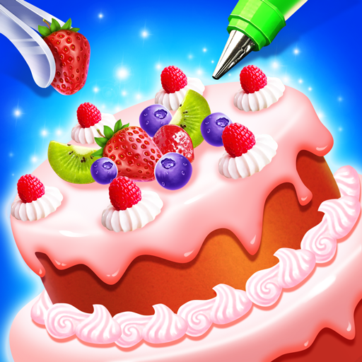 🍰💛Sweet Cake Shop - Kids Cooking & Bakery Icon