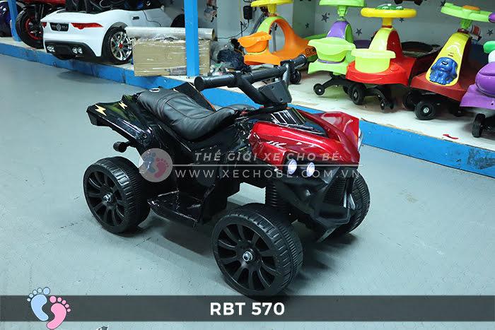 Mô tô điện trẻ em 4 bánh RBT-570 5