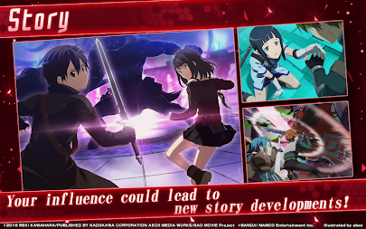 Sword Art Online: Integral Factor APK screenshot thumbnail 7