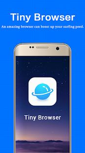Tiny Browser - náhled