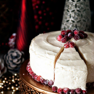 Holiday Party Tips and a Killer Cranberry Vanilla Bean Cake