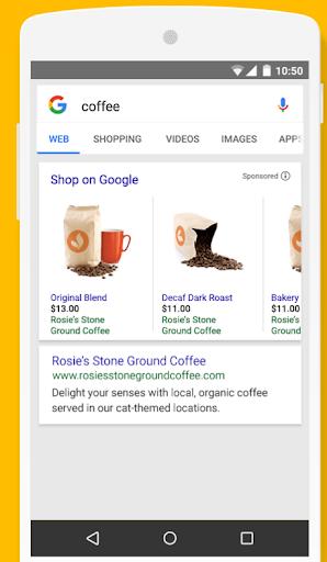 Reklama w Zakupach Google