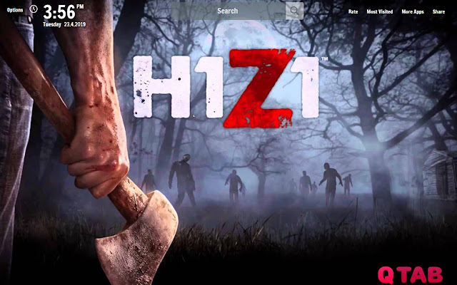 H1Z1 King of the Kill Wallpapers New Tab