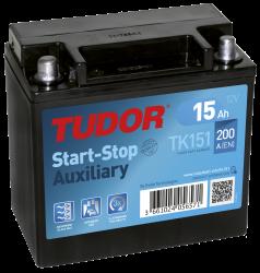 Tudor Start-Stop Auxilia 15Ah TK151
