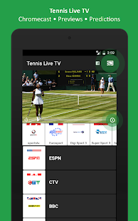 Tennis Live TV - Television- screenshot thumbnail