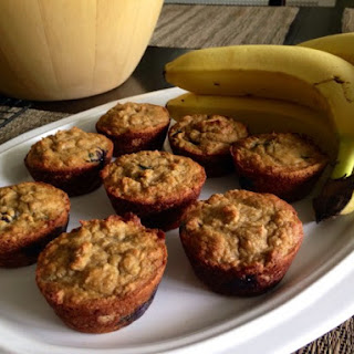 Banana Blueberry Muffins - Nut Free