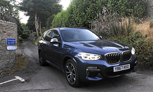 The X3 coped with some very narrow village roads. Picture: MARK SMYTH