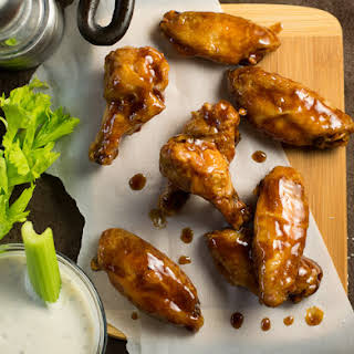 Honey Hoisin Asian Wing Sauce.