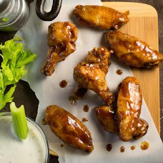Honey Hoisin Asian Wing Sauce.