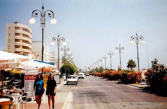 Photo: Larnaca. Boulevard.