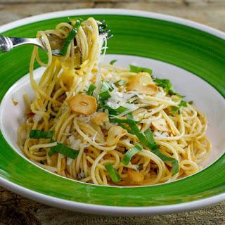 Garlic and Lemon Spaghetti