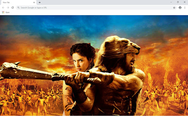 Hercules New Tab & Wallpapers Collection