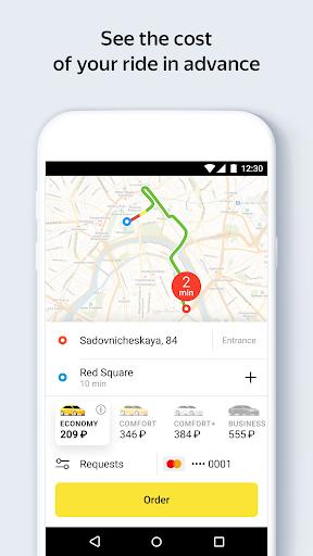 Yandex.Taxi Ride-Hailing Service 3.105.0 screenshots 1