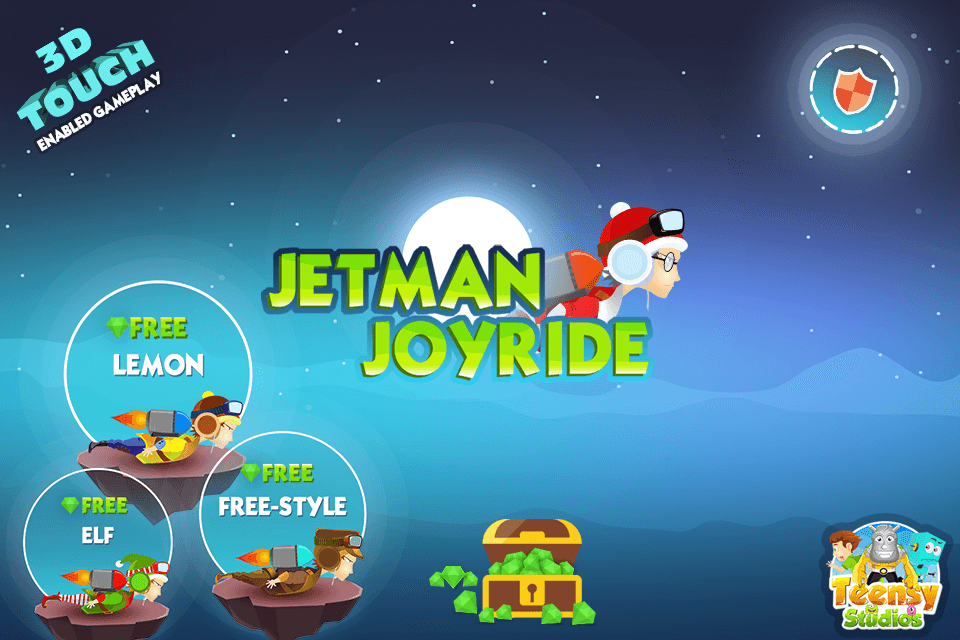 Jetman Joyride - Freestyle- screenshot