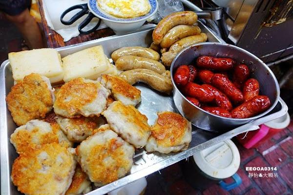 阿嬤a相思麵店 台中第二市場美食 第二市場平價銅板美食 招牌乾麵、米蘿蛋 真材實料的綜合湯