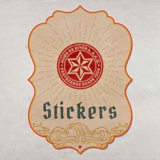 Estrella Galicia Stickers