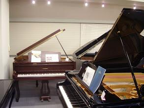 Photo: 横浜輸入ピアノショールーム ジンメルのグランドピアノ