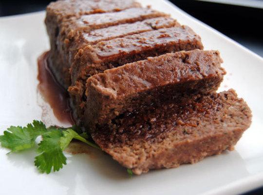 Venison Meatloaf In Cumberland Sauce Recipe