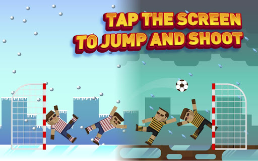 玩免費休閒APP|下載Soccer with Physics 2 players app不用錢|硬是要APP