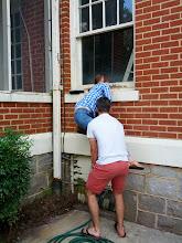 Photo: The neighborhood is going downhill...
