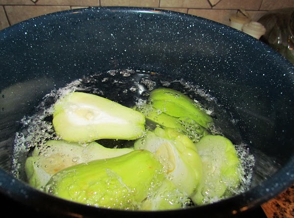 Place in a large pot and cover with water. Bring to boil and gently...
