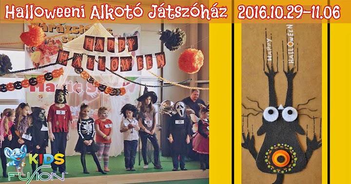 Halloweeni kézműves alkotó játszóház 2016 Kaposvár