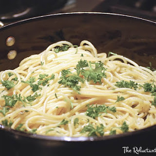 Pasta with Garlic and Oil.