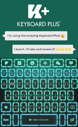 Neon Led Keyboard Theme