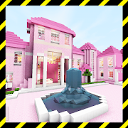 Luxurious Pink House. Map for MCPE APK for Bluestacks