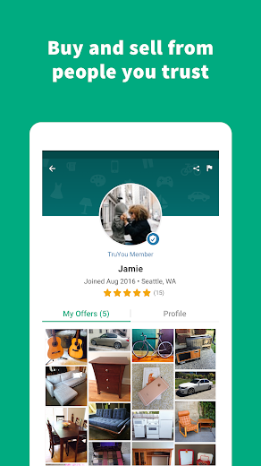 Screenshot 13 for OfferUp's Android app'