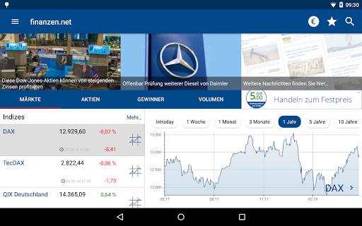 Börse & Aktien - finanzen.net  screenshots 14